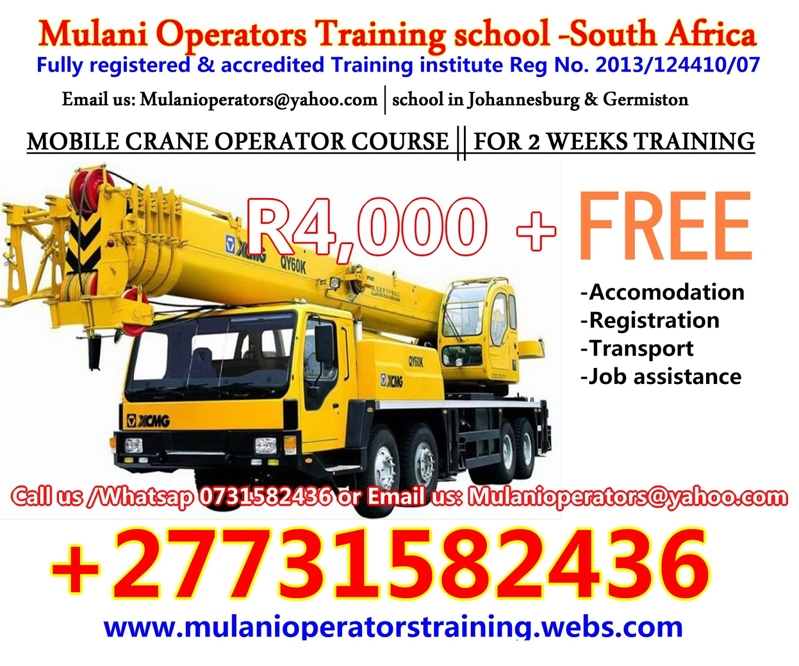 Mining training jobs in limpopo