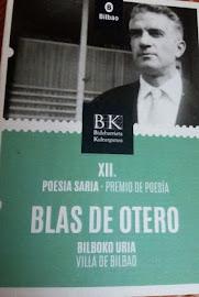 Ahora soy un pájaro,       XII Premio de poesía Blas de Otero (Bilbao 2019)