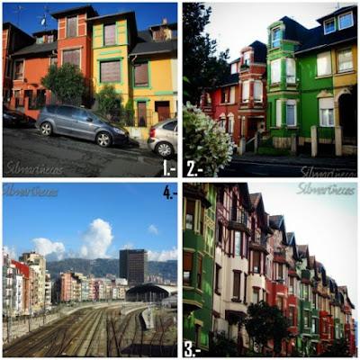 Casas del barrio de Irala