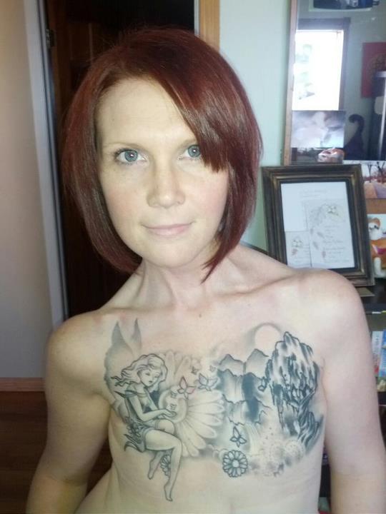 ... » Tattoo Ideas » An inspirational tattooed breast cancer warrior