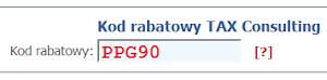 Użyj naszego kodu rabatowego TAX Consulting PPG90 i odbierz 5% zniżki na zwrot podatku!