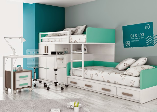 dormitorio con cama individual. Black Bedroom Furniture Sets. Home Design Ideas