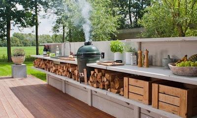 foto de cocina al aire libre