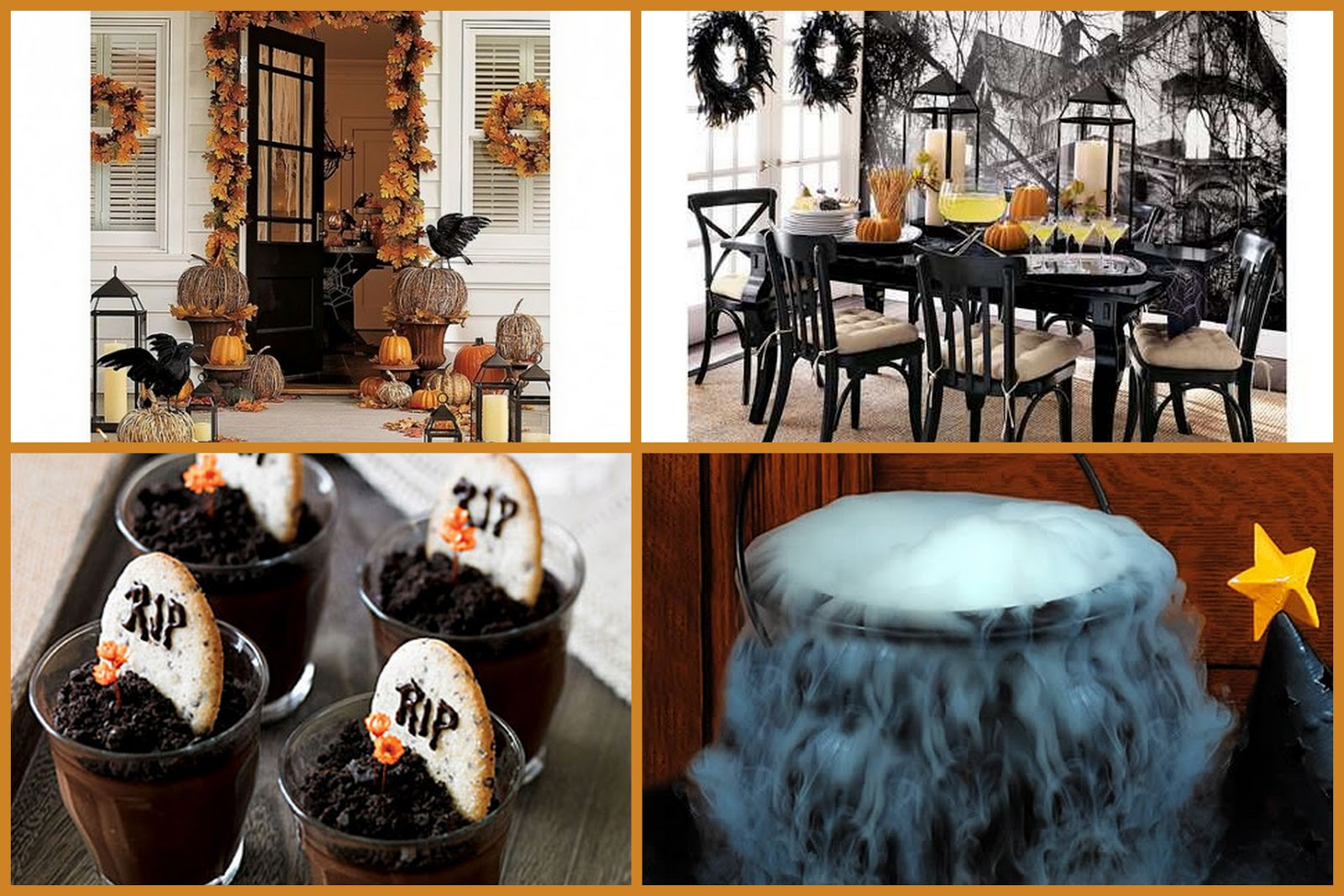 metro luxe events candice vallone halloween decor. Black Bedroom Furniture Sets. Home Design Ideas