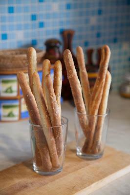 Рецепт хлебных палочек.