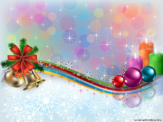 Free Download Shiny Christmas Ornaments Wallpaper