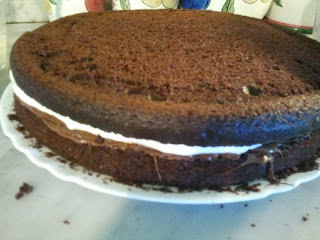 Torta Kinder Delice con Olio