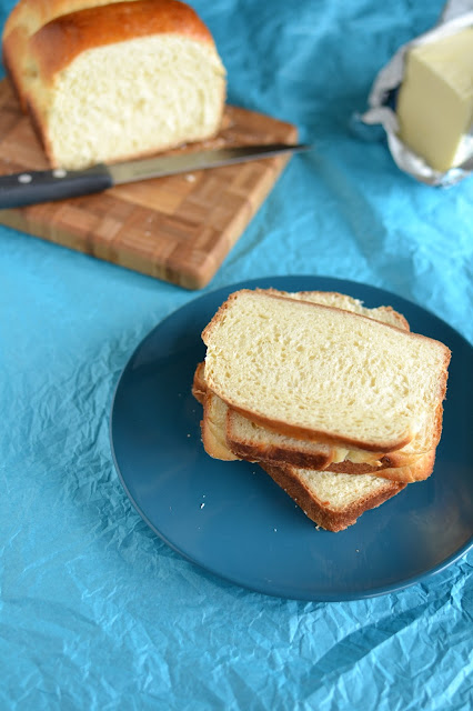 white bread using tangzhong method