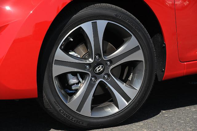ходовая Hyundai Elantra Coupe 2013