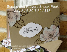 Scraps and Prayers / July 8 / 5:30-7:30 / $18.00