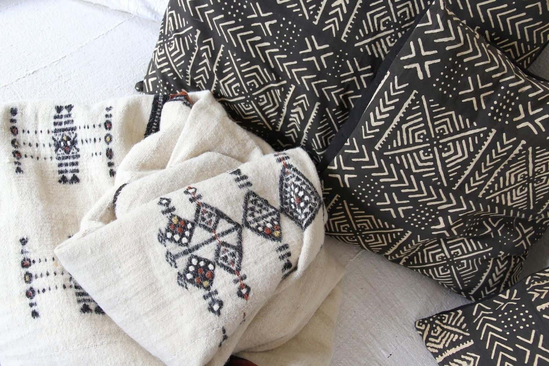Malian & Indian Textile Kronbali