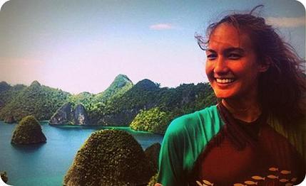 Nadine Chandrawinata ingin Taklukan Cartenz Pyramid
