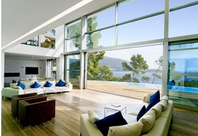 wohnzimmer und kamin moderne wohnzimmer mit galerie