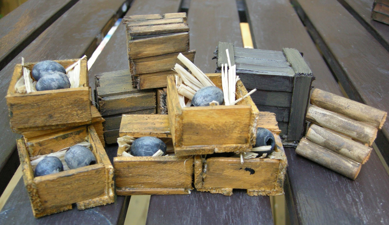 Any How Town Building Popsicle Stick Crates And Boxes
