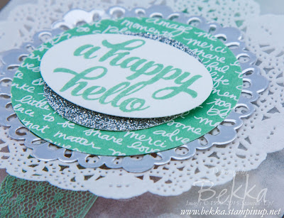 Treats For My Stamping Friends featuring the Tin of Cards Stamp Set - check it out here