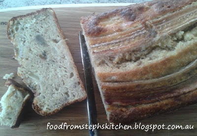 Banana and pear bread - Steph's Kitchen