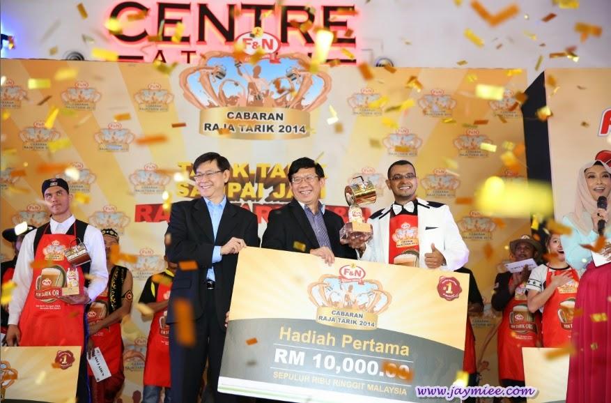 Siapa Juara  Cabaran Raja Tarik F&N 2014