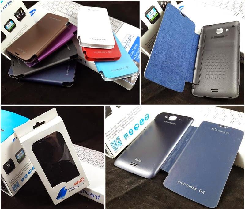 Online Shop Jual Flip Cover Case Smartfren Andromax G2