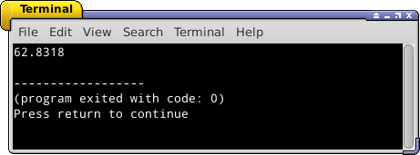 konstanta bahasa c++