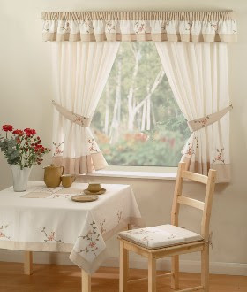 Modern furniture kitchen curtains design 2011 for Modern kitchen curtains ideas