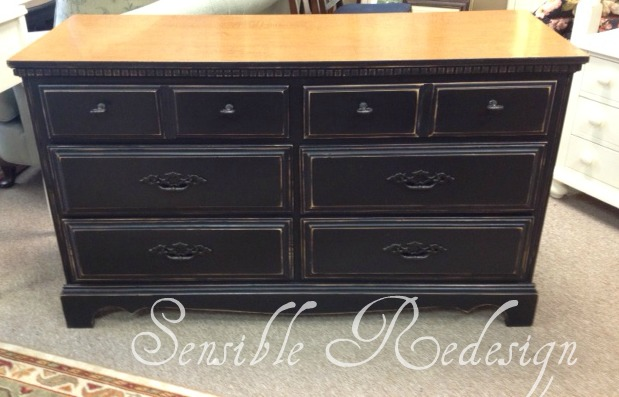 Sensible redesign double dresser for Wooden bureau knobs