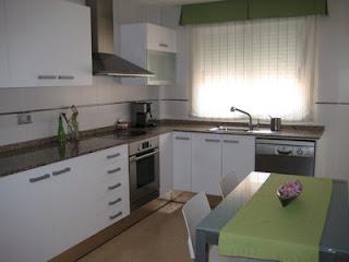Como pintar muebles de cocina aprender hacer bricolaje - Pintar muebles de cocina antes y despues ...