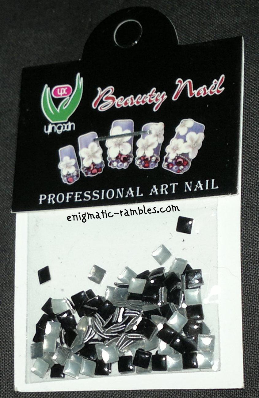 black-review-born-pretty-store-4mm-square-nail-studs