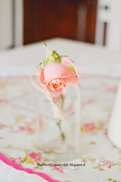 My Shabby Roses { Corners of the house }-Shabby&Countrylife.blogspot.it