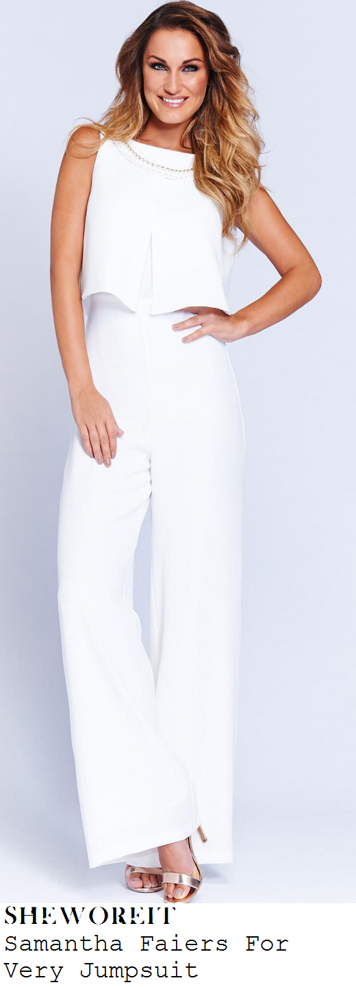 samantha-faiers-white-sleeveless-layered-wide-leg-jumpsuit-littlewoods-christmas-party