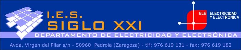 Departamento de Electricidad - I.E.S. Siglo XXI