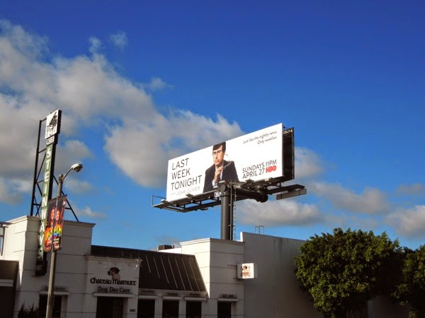Last Week Tonight John Oliver billboard
