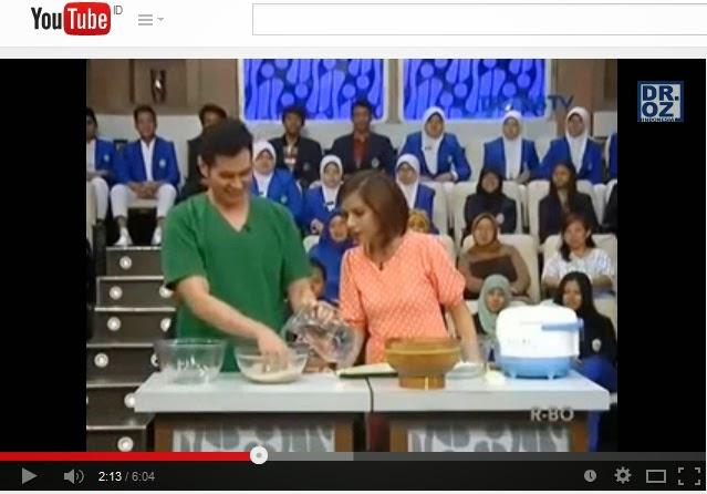 Dr OZ Indonesia Nasi Basi Semalam Baik Untuk Diabetes