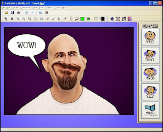 برنامج caricature converter لتحويل الصور الى كاريكاتير