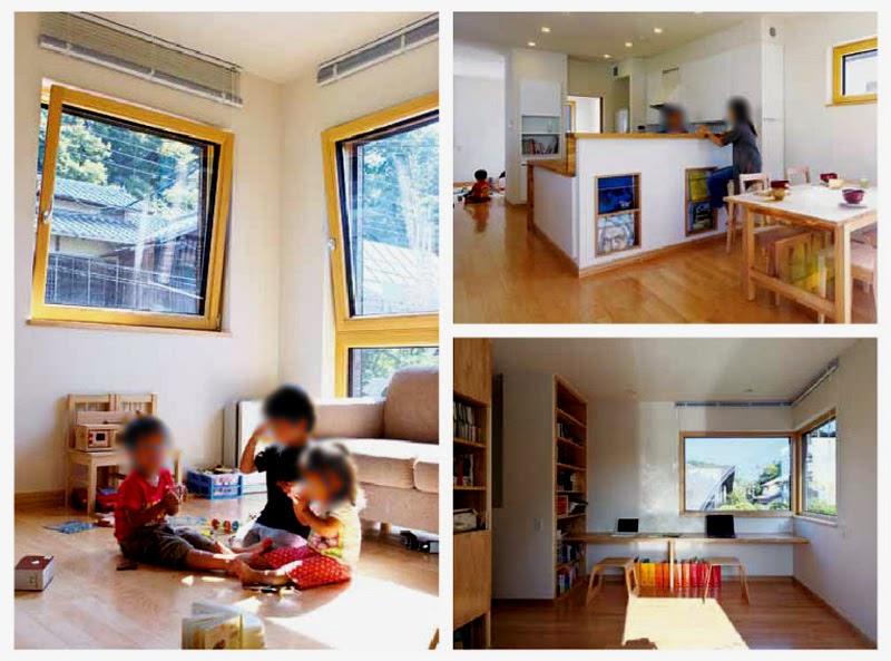 suasana interior rumah minimalis jepang yang sederhana