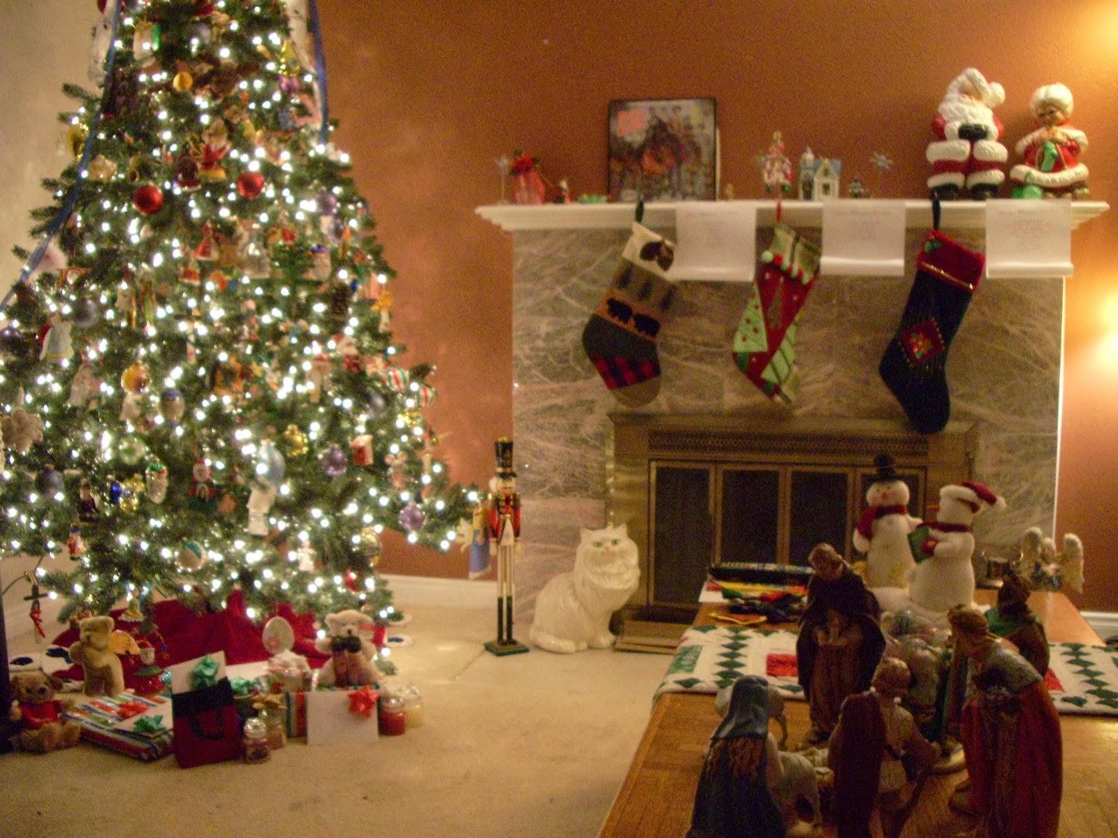 Living Room Christmas Home