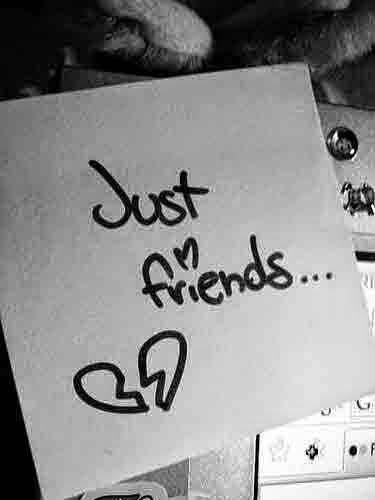 Cinta. Cuma teman, Friends, Bertepuk sebelah tangan, ditolak