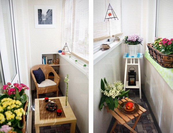 Bright home: 29 small balcony inspirations ** 29 ideja za mali balkon