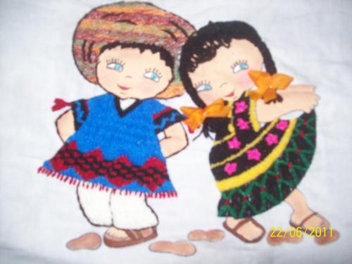 Niños bailando marinera animado - Imagui