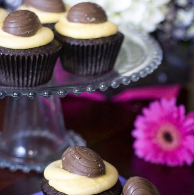 Cupcakes Take The Cake: Cadbury Creme Cupcakes