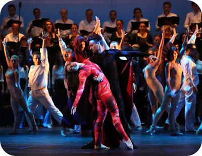 Spectacolul muzical-coregrafic Carmina Burana