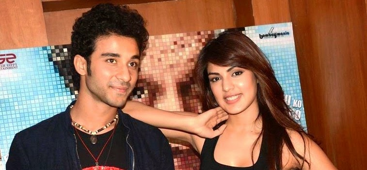 Rhea Chakraborty & Raghav Juyal at promotion of their movie 'Sonali Cable'