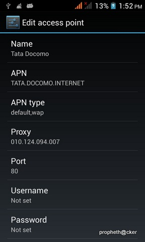 Born To hack: TATA DOCOMO Free Internet Trick 2014 for Android