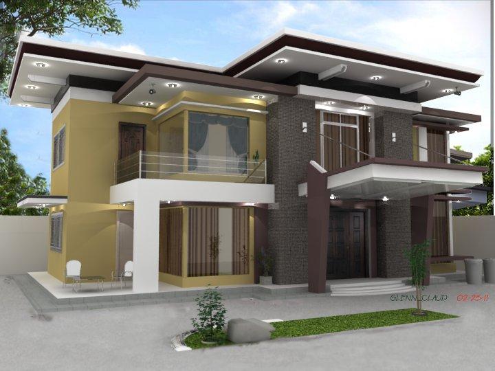 Modern House Sketchup3D Rendering AutoCad 3D Rendering Expert