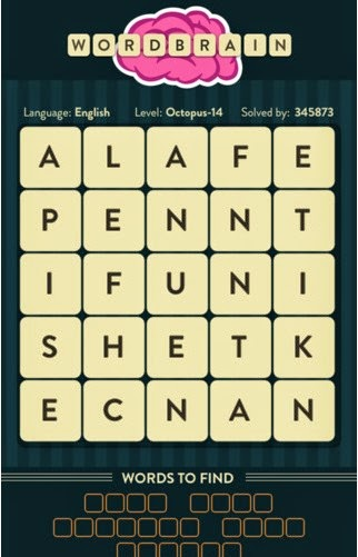 WordBrain iPhone/iPad Answers