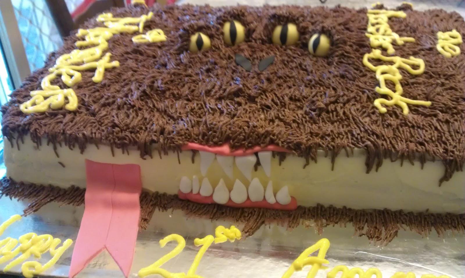 Chocolate Monster Cake Recipe