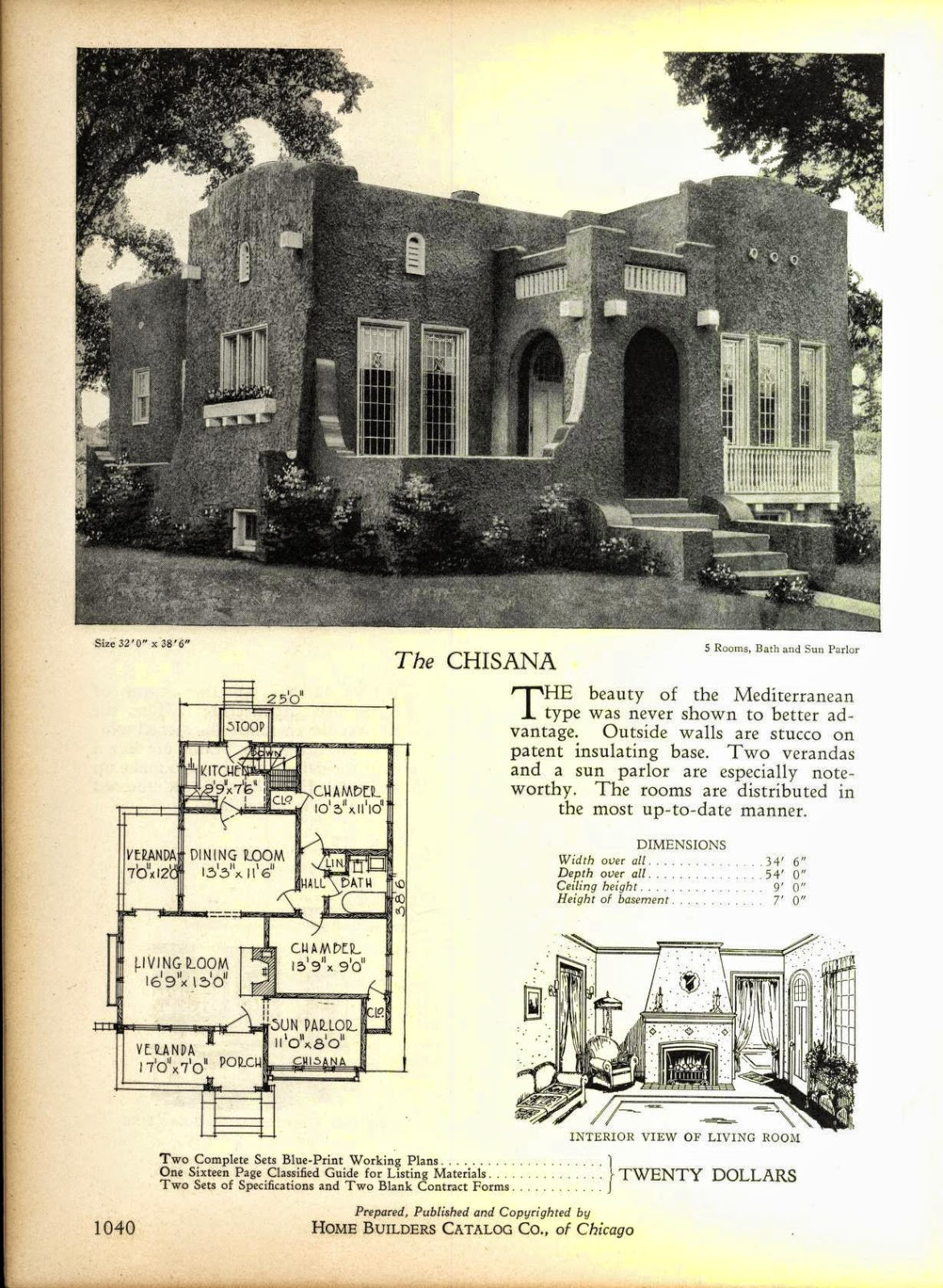 And Even More Art Deco House Plans Art Deco Resource