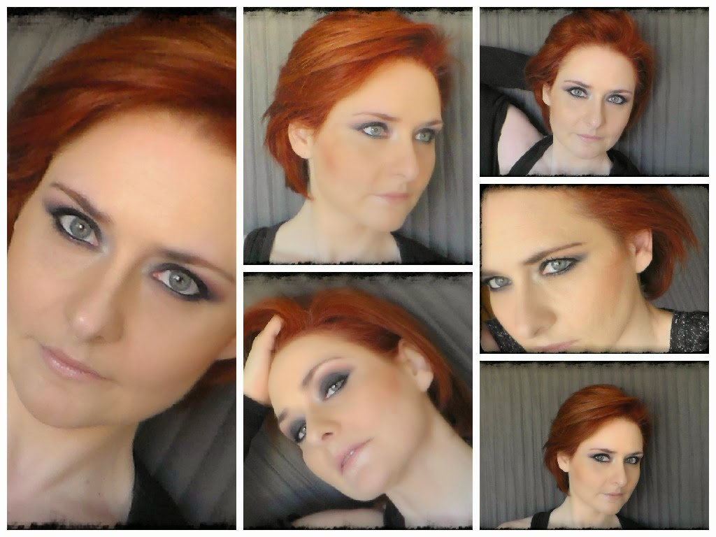 maquillaje,make up,rojo,negro