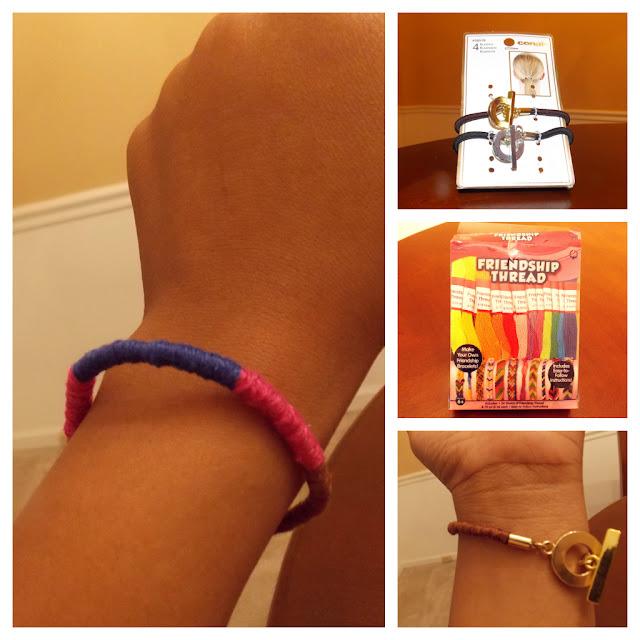 D.I.Y wrap bracelet