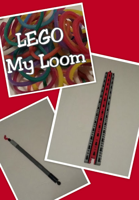 LEGO My Loom, DIY Video Tutorial on how to create a rubber band loom out of LEGO bricks, Building LEGOS with Christ