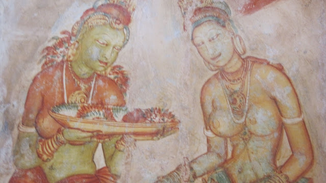 Doncellas de Sigiriya (Sri Lanka)